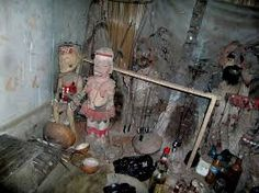 """African Voodoo Voodoo originated in the African kingdoms of Fon and Kongo as many as years ago. The word """"voodoo"""" com. Ritual Magic, Magic Spells, African Voodoo, Voodoo Rituals, Voodoo Magic, Voodoo Hoodoo, Old Fort, Voodoo Dolls, Ghost Rider"""