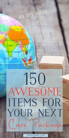 150+ Awesome Items for Your Next Care Package