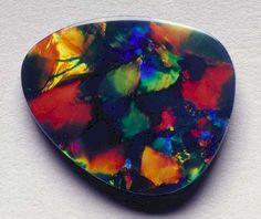 The Cardinal black opal Rare Gemstones, Minerals And Gemstones, Crystals Minerals, Jelly Opal, Oregon, Yellow Pearl, Types Of Opals, Opal Jewelry, Diamond Jewellery