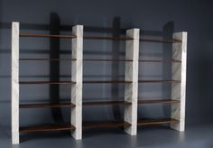 Unique Bookcase Prototype  by Afra Bianchi and Tobia Scarpa | From a unique collection of antique and modern shelves at http://www.1stdibs.com/furniture/storage-case-pieces/shelves/