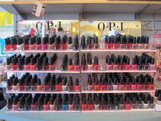 OPI Polishes- need I say more? They're the best and have the most awesome names!
