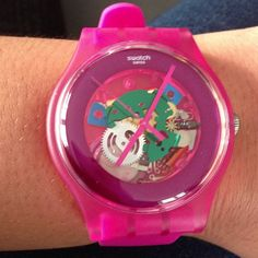 PINK LACQUERED  http://swat.ch/HgVWXs  #Swatch