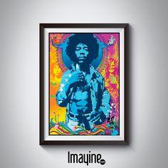 Cuadro Jimmy Hendrix
