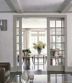 Glass Door Designs For Living Room Beauteous Contemporary Home Officeharrell Remodeling  Pocket Doors Design Decoration