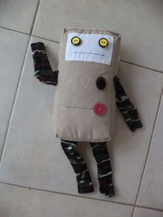 Soft robot toy