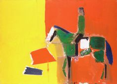 urgetocreate:  Nicolas de Staël, Figure on Horseback, 1954