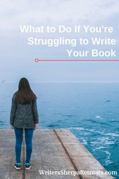 What to Do If You're Struggling to Write a Book -- Writing a book is a challenge, but it doesn't have to be a struggle. Here's what to do if you're tired of struggling to write a book. Writing tips, writing inspiration, write a book, be a better writer Memoir Writing, Book Writing Tips, Writing Quotes, Fiction Writing, Kids Writing, Creative Writing, Writing Ideas, Writing Humor, Writing Process