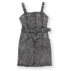 The 1964 Denim Company Girls Acid Wash Dress - Grey Denim Company, Girls Dresses, Summer Dresses, Playsuits, Jacket Dress, Gray Dress, Button Up, Chloe, Girl Outfits