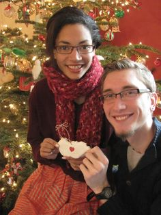 Serendipitous Discovery: DIY Clay Ornament.  Recipe and instructions.