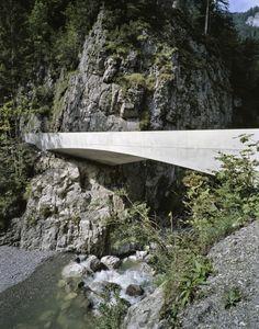 Schanerloch Bridge. By Marte.Marte. [Dornbirn, Vorarlberg] Austria.