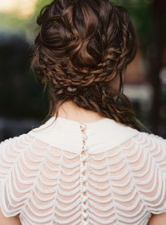 intricate sideswept braid ~ we ❤ this! moncheriprom.com