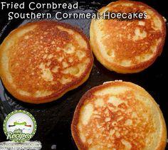 Fried Cornbread � Southern Cornmeal Hoecakes