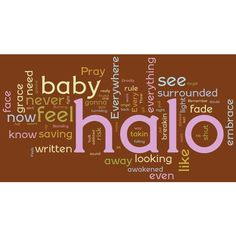 halo beyonce lyrics found on Polyvore