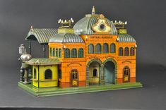 Marklin Grand Central Bahnhof train station, German, est. $30,000-$40,000.