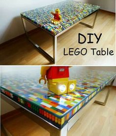 Think kids will give up their lego