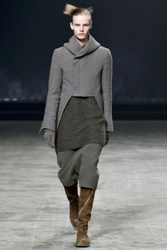 Visions of the Future // Rick Owens Fall 2011 Menswear Fashion Show