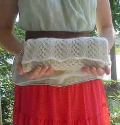 super delicate clutch  free knitting pattern