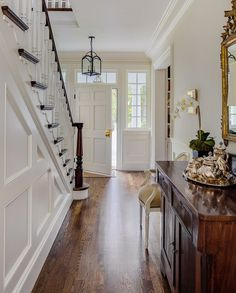Concord New Farmhouse Live And Learn, Breezeway, New Construction, Homesteading, Colonial, Small Spaces, New Homes, Stairs, Farmhouse