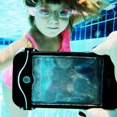 """Use your iPhone underwater with the iPhone Scuba Suit from @Photojojo ♥s Photography."" I have to get this before vacation. -CAB"