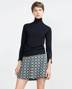 JACQUARDKJOL-Mini-Kjolar-DAM | ZARA Sverige