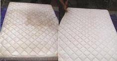 Esta es la forma más eficaz de limpiar su colchón de manchas y olores desagradables!