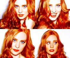 Jessica, from True Blood, (actress Deborah Ann Woll) and her beautiful hair.