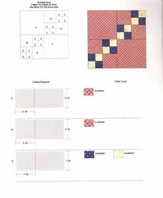 "Humble Quilts: ""Leftovers"" block pattern"