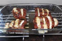 varkenshaasje honing brie gebakken Brie, French Toast, Breakfast, Recipes, Food, Morning Coffee, Recipies, Essen, Meals