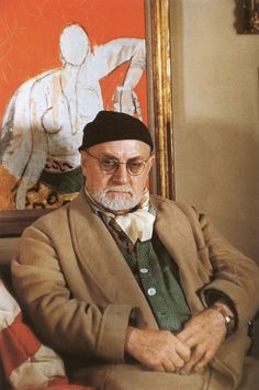 Henri Matisse --  photo, Gisèle Freund