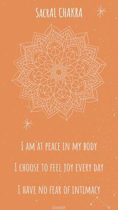 Sacral Chakra Healing, Chakra Mantra, Chakra Meditation, Chakra Locations, Second Chakra, Chakra Affirmations, Chakra System, 7 Chakras, Mind Body Soul