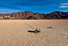 Mysterious Sailing Stones