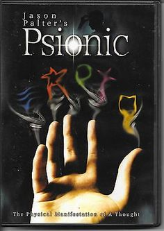 Jason Palter's Psionic DVD Manifestation of a Thought Psychic Magic Trick Collectibles:Fantasy, Mythical & Magic:Magic:Tricks www.webrummage.com $23.99