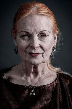 """""""The sexiest people are thinkers. Nobody's interested in somebody who's just vain with a hole in their head, talking about the latest thing — there is no latest thing. It's all rubbish."""" - Vivienne Westwood"""