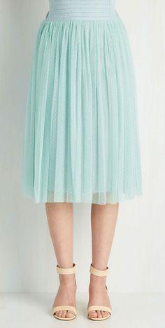 Patron Prestige Skirt in Seaglass, very pretty