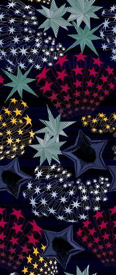 Starry starry nights Matthew Williamson AW14 3D Star Print