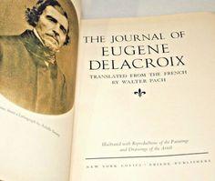 Eugene Delacroix Journal Walter Pach Covici Friede Color Art Illustrations 1937