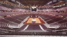 Palace of Auburn Hills. Somewhere down there they say they play basketball...Went with my dad and his buddies to Boxing Night in America. For a while, it hosted an indoor soccer team. Cheap tickets, cold beer, got to yell. It's what sports are all about, right?