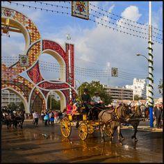 Feliz Domingo lleno de luz y color como la Feria de Abril - Happy Sunday full of light and color like the Fair of April. | Flickr - Photo Sharing!