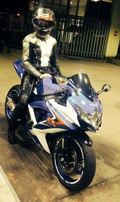 Girl & GSXR Gsxr 600, Sportbikes, Biker Girl, Motorcycles, Racing, Woman, Box, Sweet, Girls