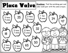 Back to School Math: First and Second Grades Teaching Schools, Math Education, Teaching Math, Teaching Ideas, Second Grade Math, Grade 2, First Grade, School Resources, Math Resources