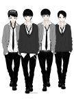 Bobby, Leo, Tao and Himchan fanart by aitnix