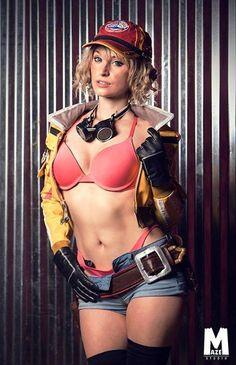 [Sexy Cosplay] Byndo Gehk as Cidney from Final Fantasy 15 (Fan service edition