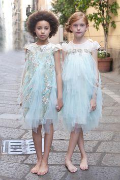 Pamilla haute couture spring summer 2017 from Pitti Bimbo 83 to Milan. Italian…