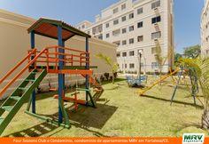 Playground do Four Seasons Club. O condomínio é um empreendimento da MRV em parceria com a Magis, localizado na Região de Dunas em Fortaleza/CE.