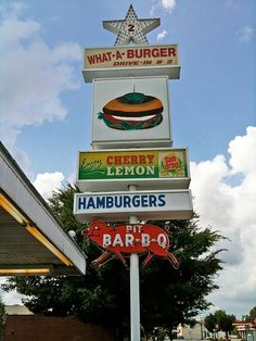 What-A-Burger in Concord, NC just outside of Charlotte by Doc_Zola, via Flickr