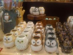 Owl Mug.. I have two of these mugs (brown and blue) and a blue owl tea pot! <3