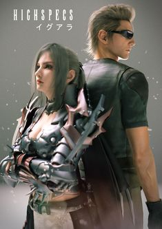 They would make a perfect couple Final Fantasy Xv Wallpapers, Final Fantasy Artwork, Final Fantasy Collection, Fantasy Series, Final Fantasy Xv Ignis, Noctis, Boy Bands, Finals, Fangirl