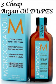Find some Moroccan Oil dupes on our app! $$ If you love dupes, check out our iOS app and save money! $$ http://appstore.com/drugstoredupes