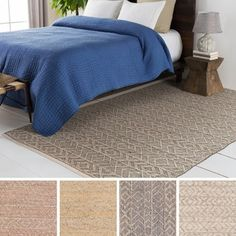 Shop for Hand-Woven Lewis Indoor Rug (8' x 10'). Get free shipping at Overstock.com - Your Online Home Decor Outlet Store! Get 5% in rewards with Club O!