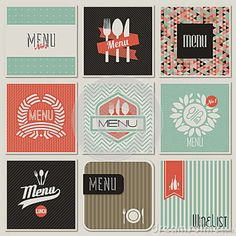 menu designs - Google Search